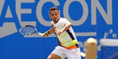 El tenista dominicano Víctor Estrella Foto:Fuente Externa