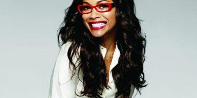 Zoe Saldaña. La dominicana y estrella de Star Trek, asegura sentirse orgullosa de ser una geek.