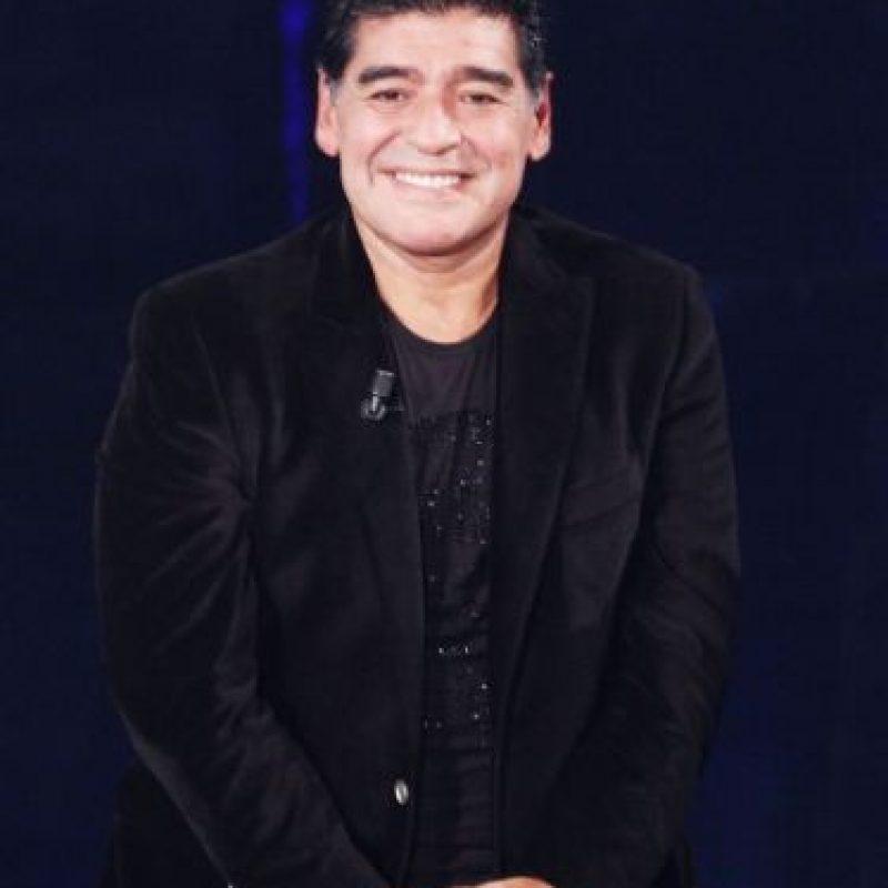 "En 2007 se estrenó en Italia una película inspirada en él llamada ""Maradona, la mano de Dios"". Foto:Getty Images"