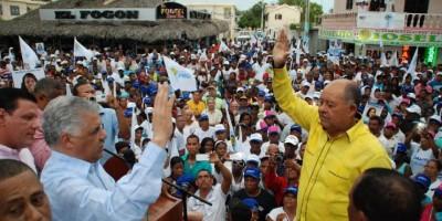 PRD proclama a Daniel Ozuna candidato a alcalde Boca Chica