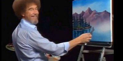 Ahora pueden ver a Bob Ross pintando árboles felices. Foto:facebook.com/The-Joy-of-Painting-with-Bob-Ross-150008825045842