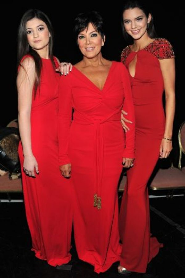 Kris Jenner y sus hijas Kylie y Kendall Foto:Getty Images