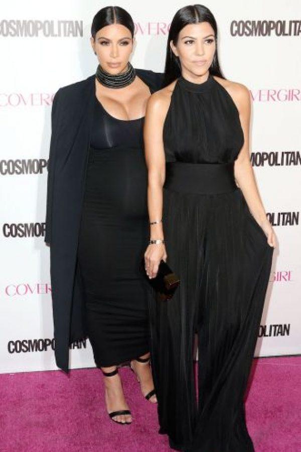 Kim y Kourtney Kardashian Foto:Getty Images