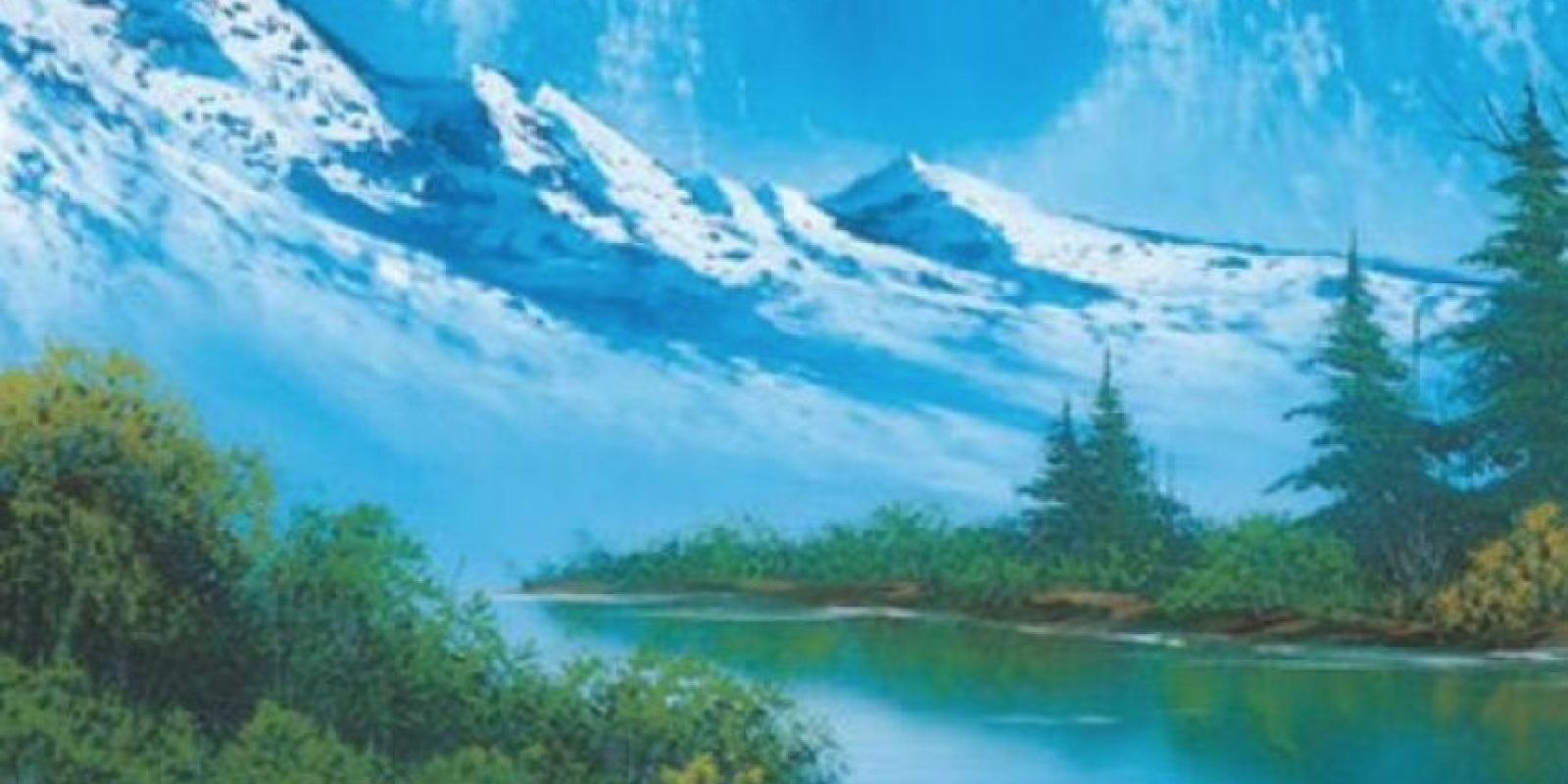 Foto:facebook.com/The-Joy-of-Painting-with-Bob-Ross-150008825045842