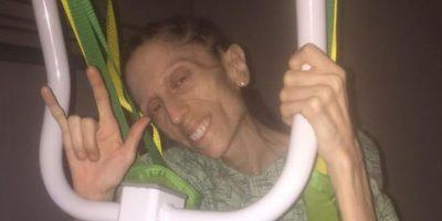 También insuficiencia hepática. Puso un video para que le financiaran la recuperación. Foto:vía Facebook/Rachael Farrokh
