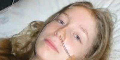 Dejó de comer, la metieron en el hospital, salió y siguió perdiendo peso. Foto:vía Youtube