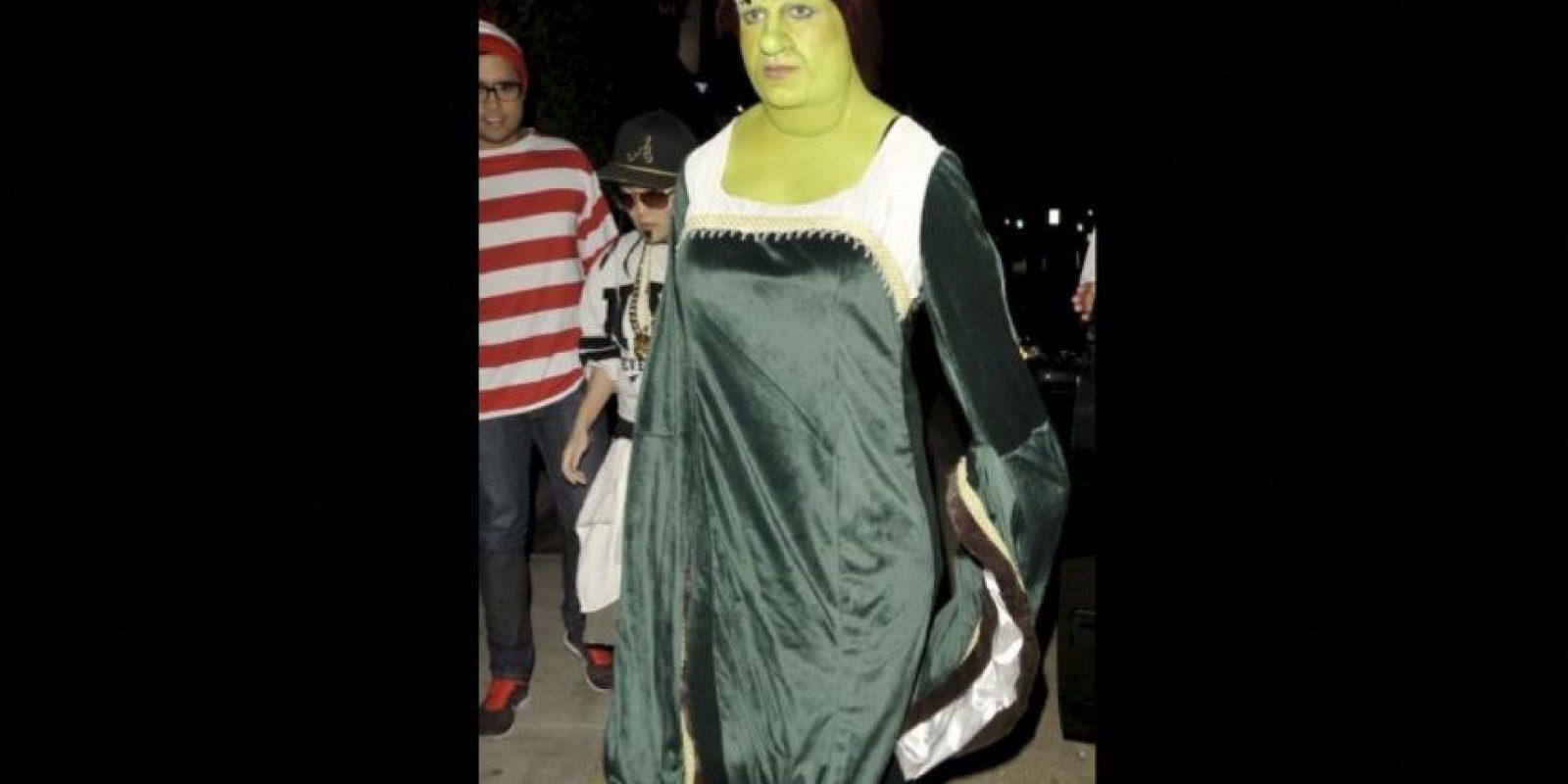 """Fiona de """"Skrek"""" es Colton Haynes Foto:Getty Images"""