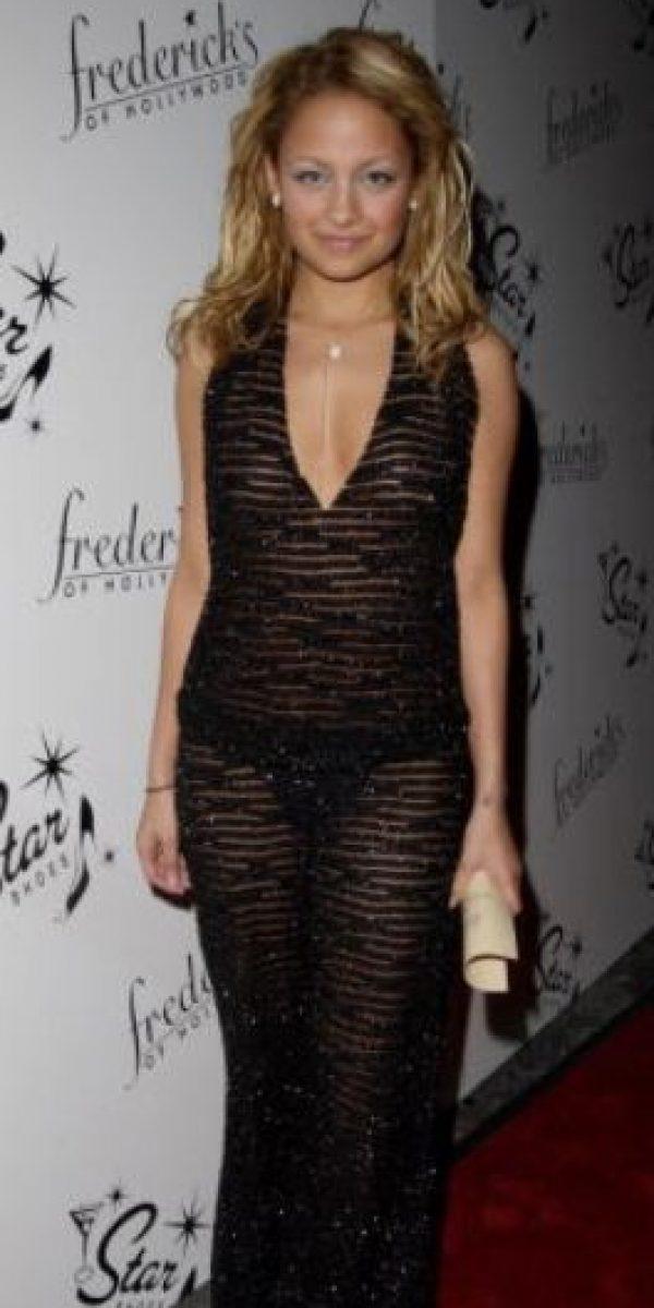 """Nicole Richie era drogadicta y desaliñada en """"The Simple Life"""". Foto:vía Getty Images"""