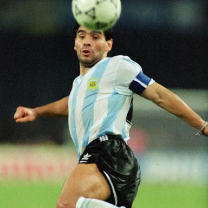 Cuatro años después reapareció en Italia 1990. Pero ahi él y Argentina perdieron la final ante Alemania. Foto:Getty Images