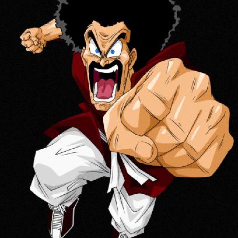 """Mister Satán"", el hombre que ""salvó"" a la Tierra varias veces. Foto:dragonball.wikia.com"