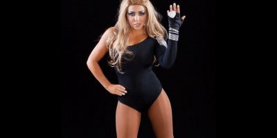 Layla como Beyoncé. Foto:WWE