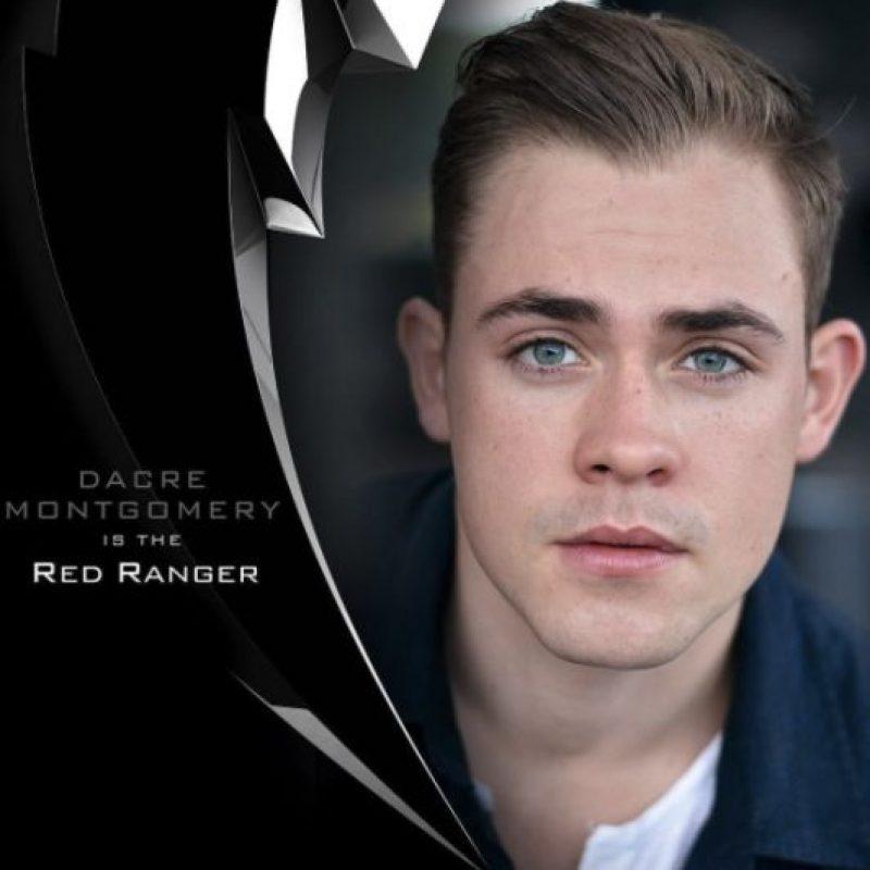 """Llevará el uniforme rojo y su nombre será """"Callum Oliver"""". Foto:vía instagram.com/powerrangersmovie"""