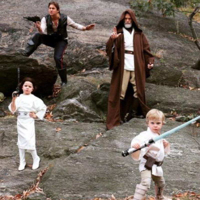 """El comediante convirtió a toda su familia en personajes de """"Star Wars"""" Foto:vía instagram.com/nph"""