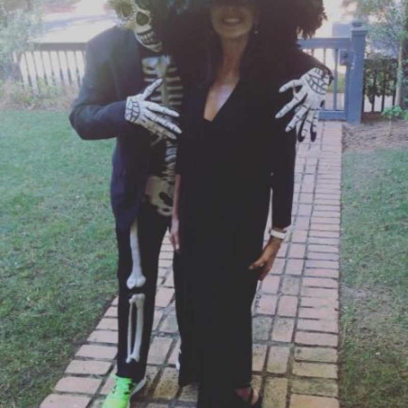 """La actriz de """"Rápido y Furioso"""" se convirtió en una viuda negra. Foto:vía instagram.com/jordanabrewster"""