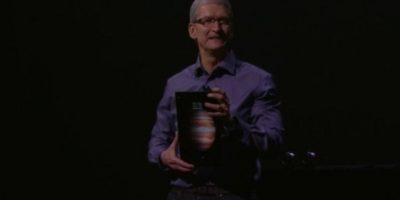 Cámara frontal: 1.2 megapíxeles. Foto:Apple