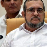 """Timoleón Jiménez, alias """"Timochenko"""", es el comandante en jefe de las Fuerzas Armadas Revolucionarias de Colombia, las FARC. Foto:vía Getty Images"""