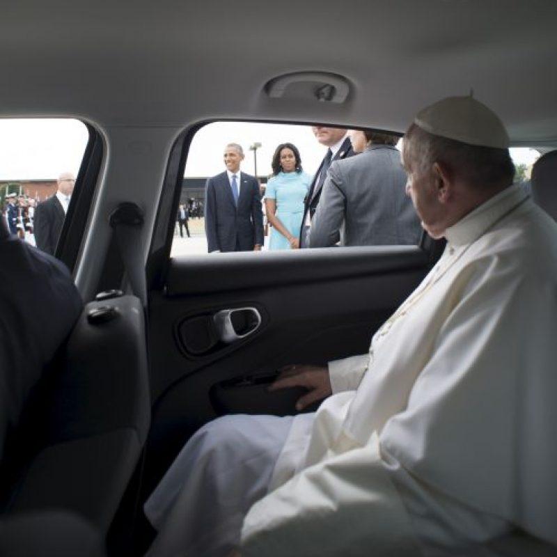 El mandatario llegó a Estados Unidos proveniente de Cuba Foto:Getty Images
