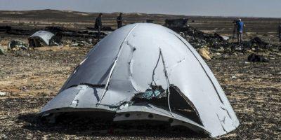 Aunque integrantes del grupo Estado Islámico se atribuyeron su derribo Foto: AFP
