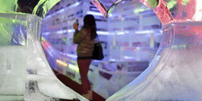 """Esta """"burbuja de hielo"""" podría ser lo más sorprendente que vean hoy"""