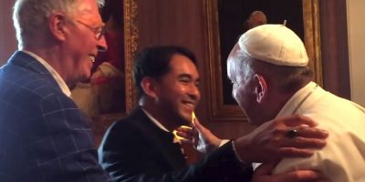 """Durante su visita a Estados Unidos, el Papa Francisco se reunió con """"un viejo amigo, declarado abiertamente homosexual"""", informó la cadena estadounidense """"CNN"""". Foto:Yayo Grassi"""
