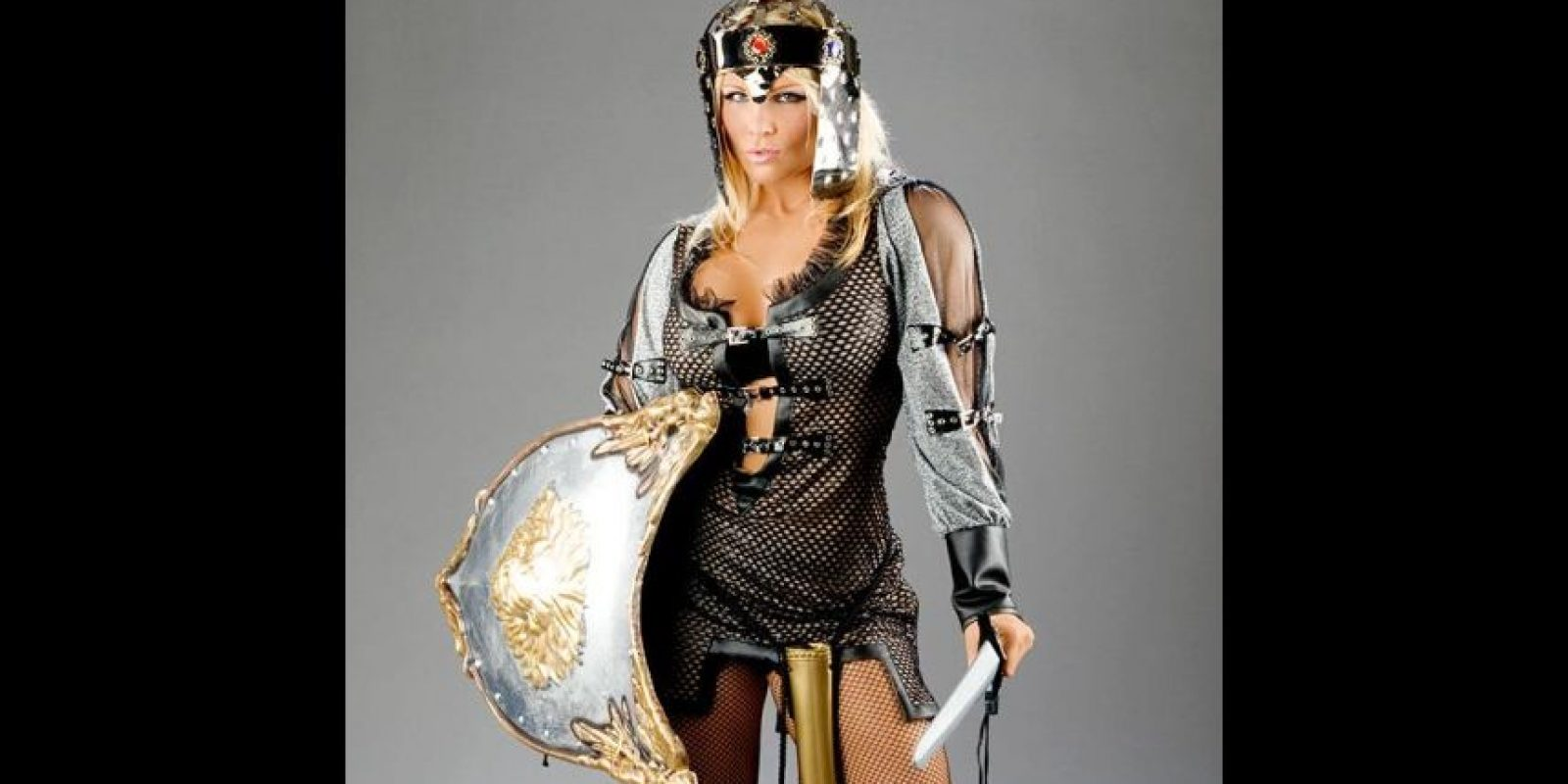 Beth Phoenix como gladiadora. Foto:WWE