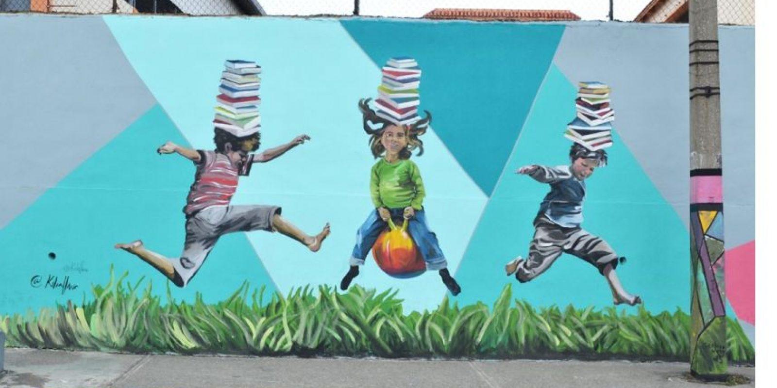 """No hay límites en los lienzos urbanos; la creatividad no tiene un """"no"""" Foto:Mario de Peña"""