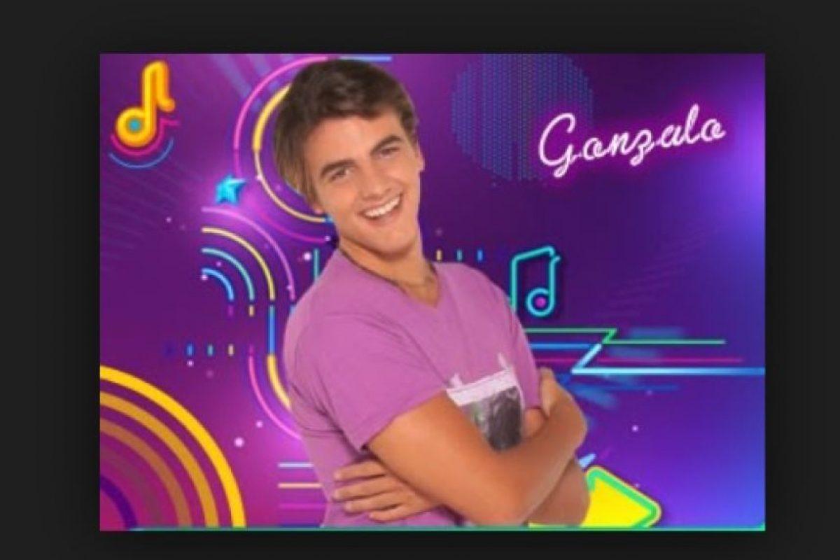 """Su papel fue el de """"Gonzalo"""", otro miembro de la banda """"Control Remoto"""". Foto:Nickelodeon"""