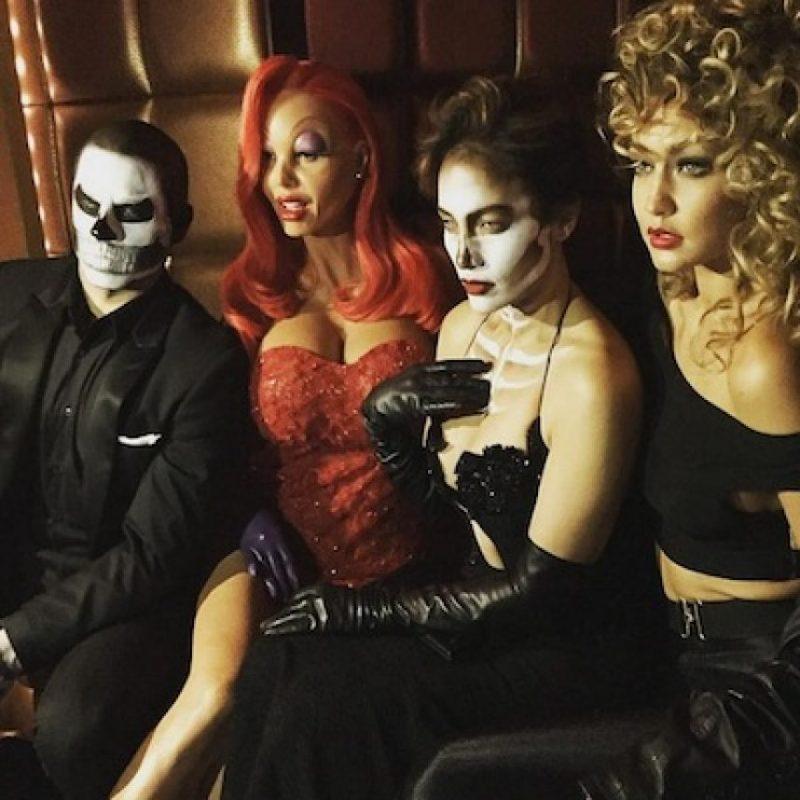Casper Smart, Heidi Klum, Jennifer López y Gigi Hadid Foto:Instagram/heidiklum