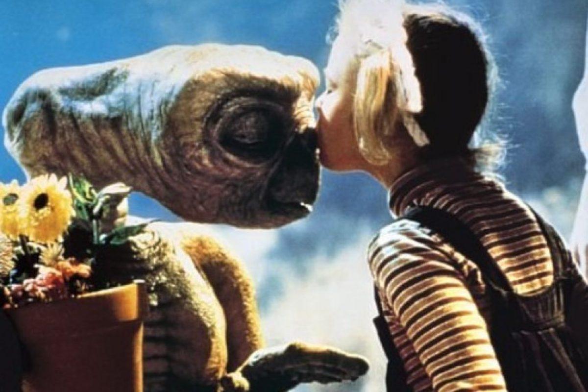"""A los 7 años saltó a la fama por su papel en la película """"E.T., El Extraterrestre"""". Foto:IMDB"""
