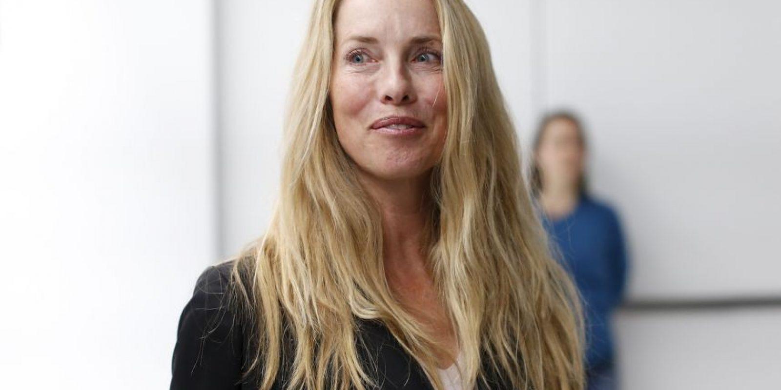 6. Laurene Powell Jobs, también estadounidense, es miembro de la compañía Apple. Es la viuda de Steve Jobs. Foto:Getty Images