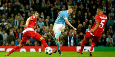 En otro duelo de locura, Manchester City paga la visita al Sevilla Foto:Getty Images