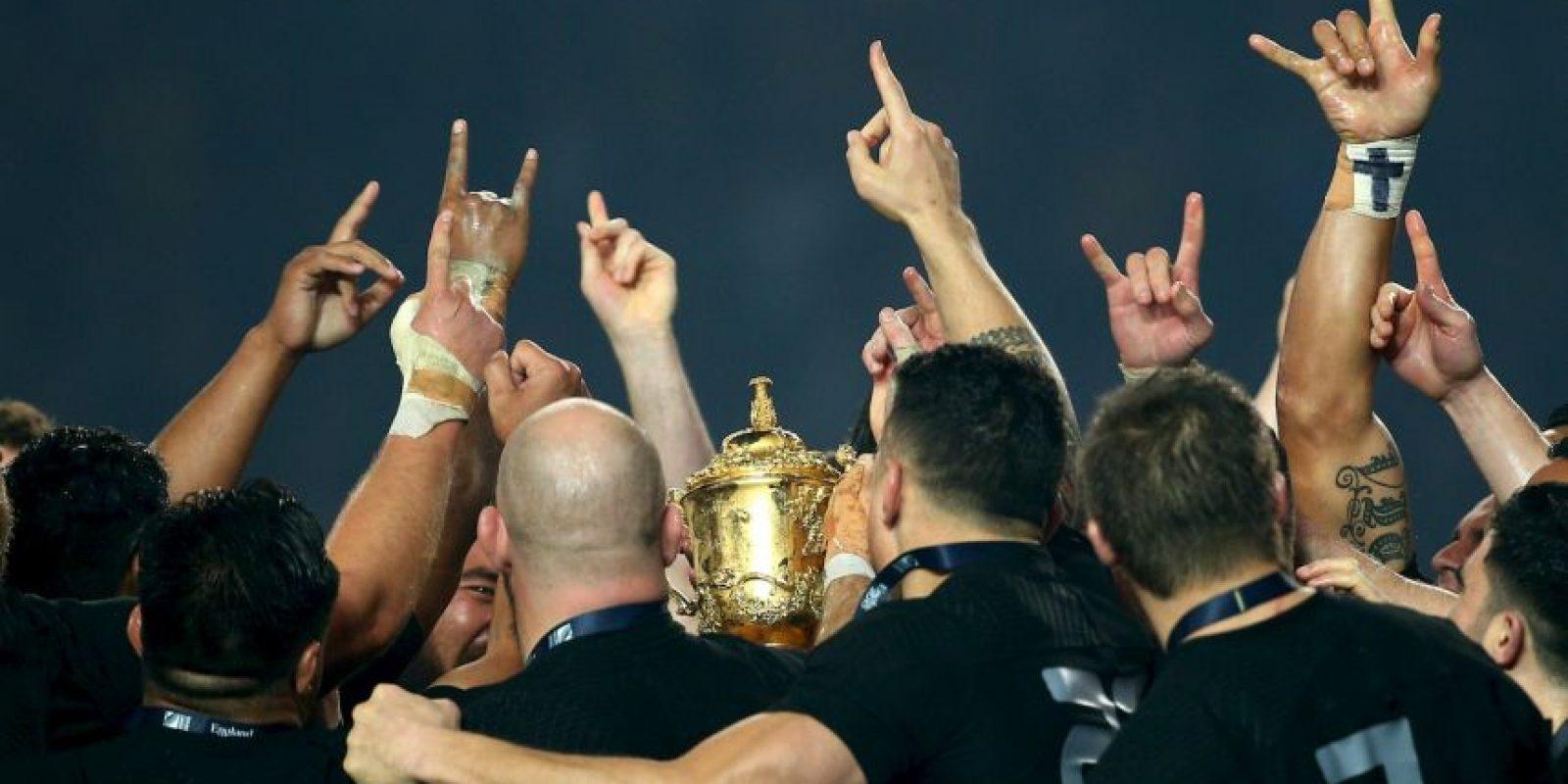 Nueva Zelanda ganó la tercera estrella de su historia Foto:Getty Images