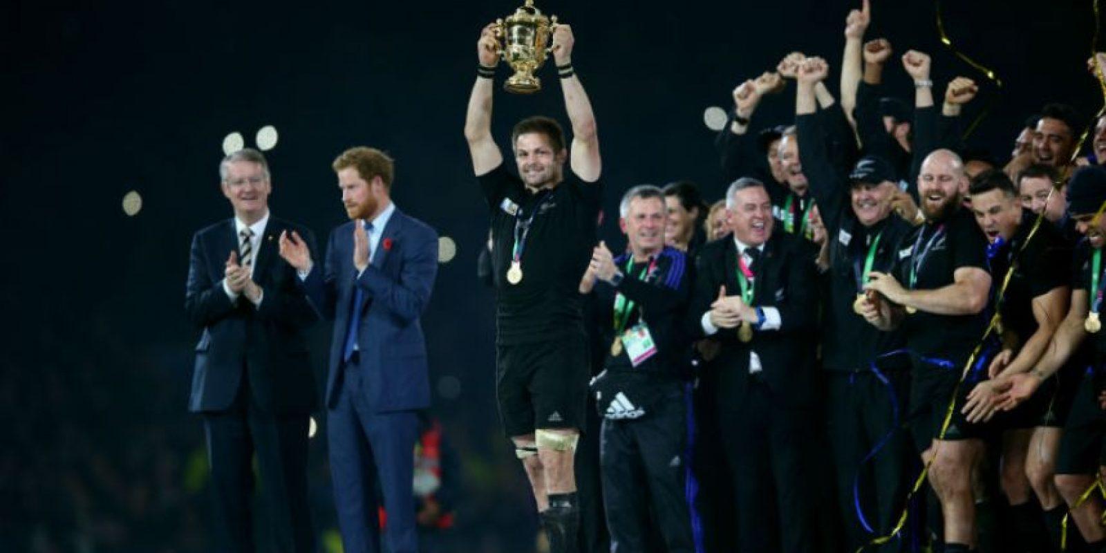 En el Mundial de Rugby 2015 Foto:Getty Images