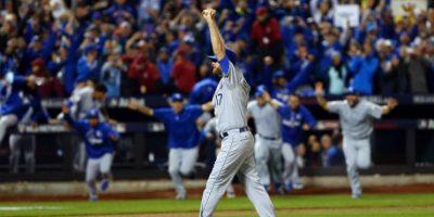 Kansas City se impuso en la Serie Mundial a New York Mets Foto:Getty Images