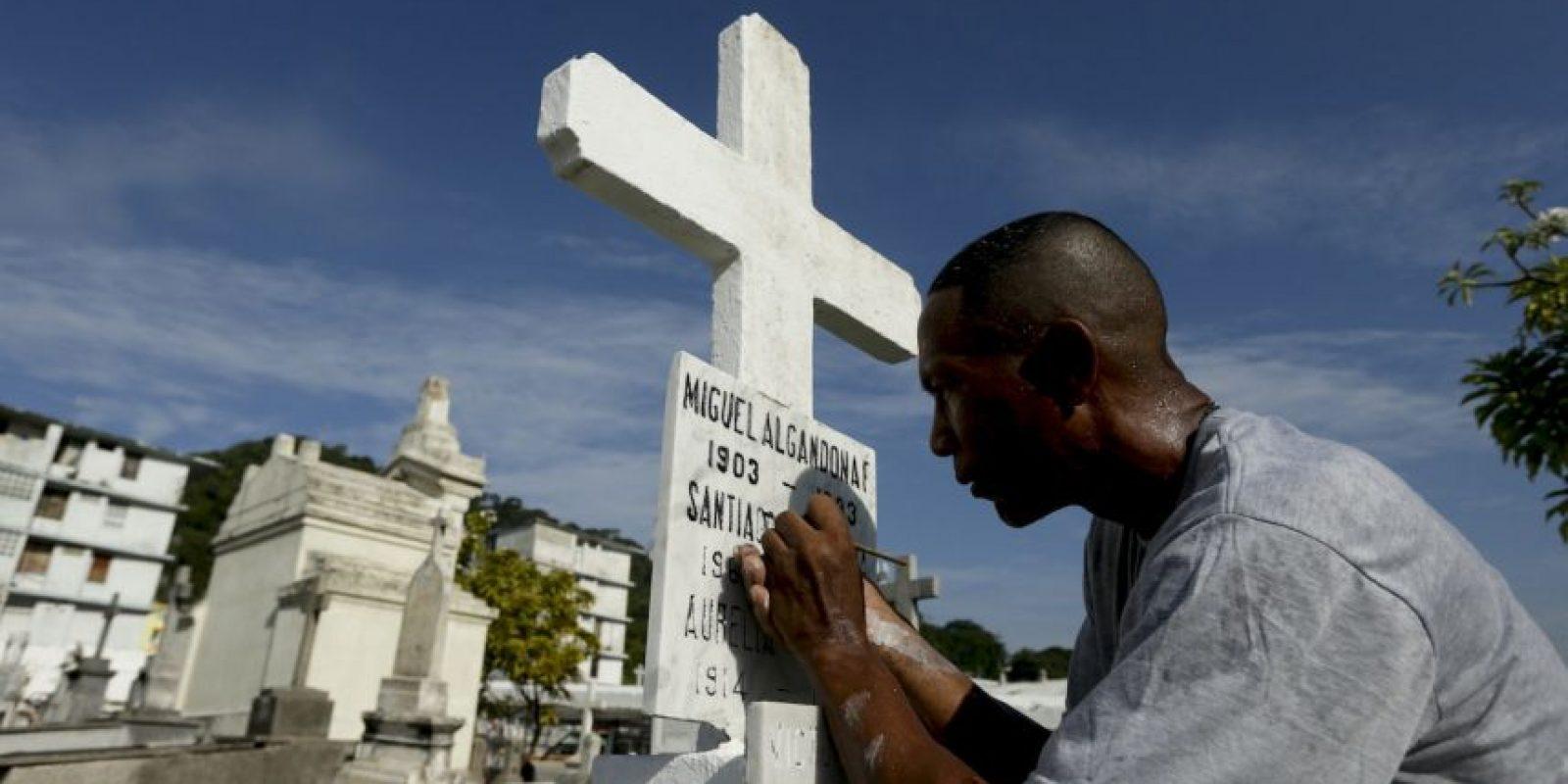 Día de los Muertos en Perú Foto:AP