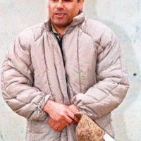 """oaquín también conocido como """"El Chapo"""" era uno de los narcotraficantes más poderosos del mundo. Fue detenido el 22 de febrero del 2014. Pero se escapó de una cárcel de alta seguridad el pasado 11 de julio Foto:Pinterest"""