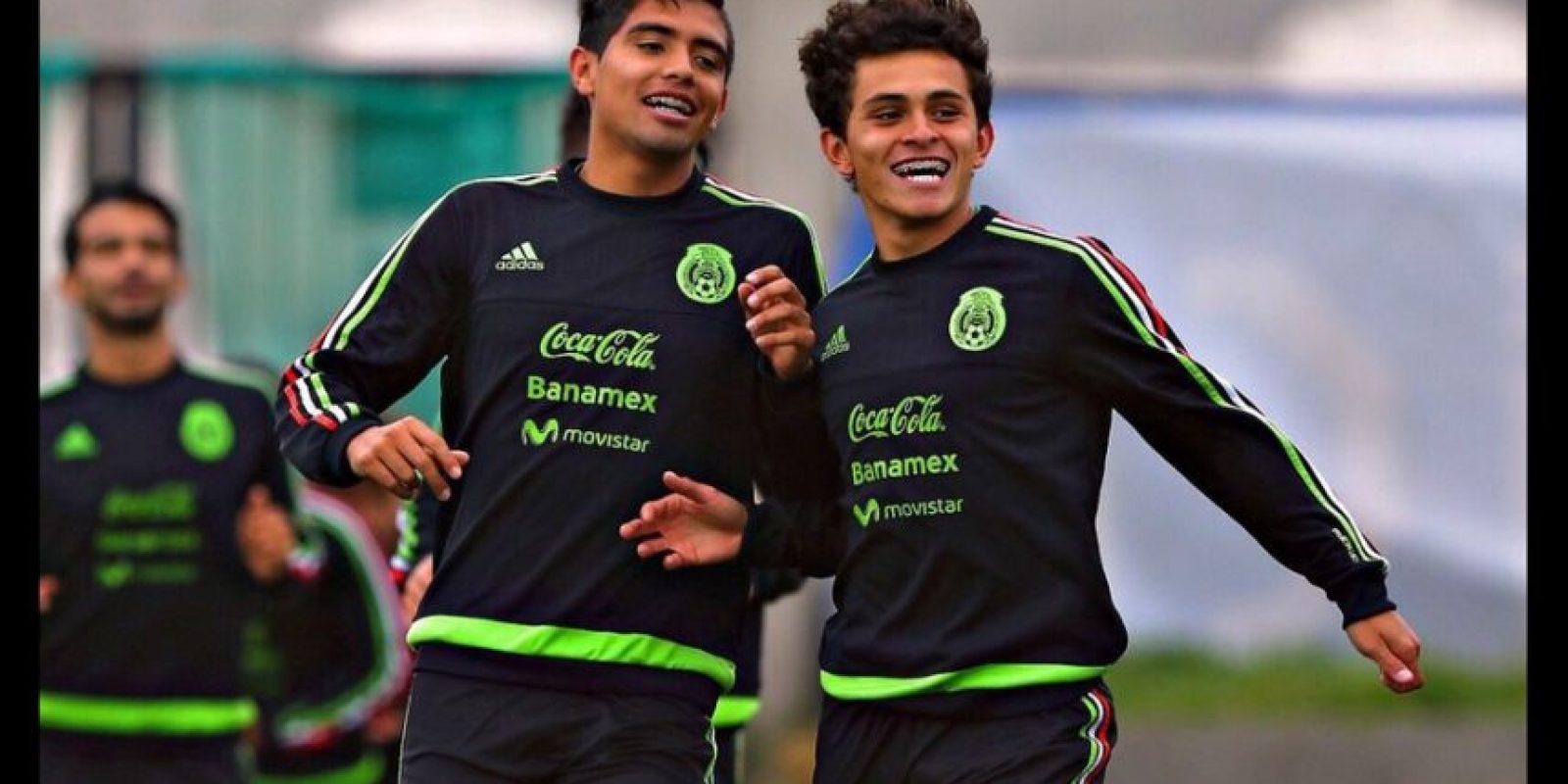 """Los """"verdes"""" son favoritos para llegar a la final del torneo Foto:Vía twitter-com/miseleccionmx"""