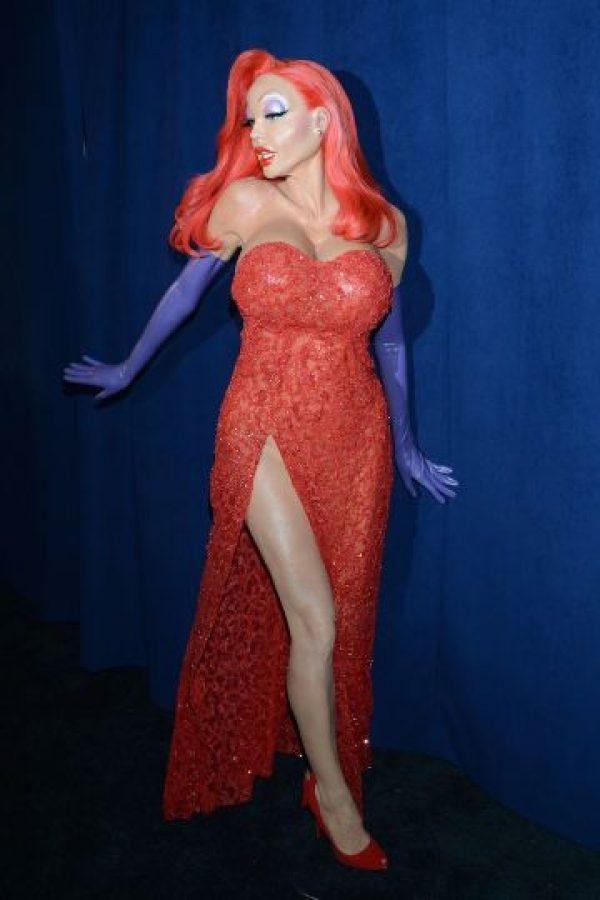 Heidi Klum continúa sorprendiendo al mundo con sus extravagantes disfraces. Foto:Grosby Group