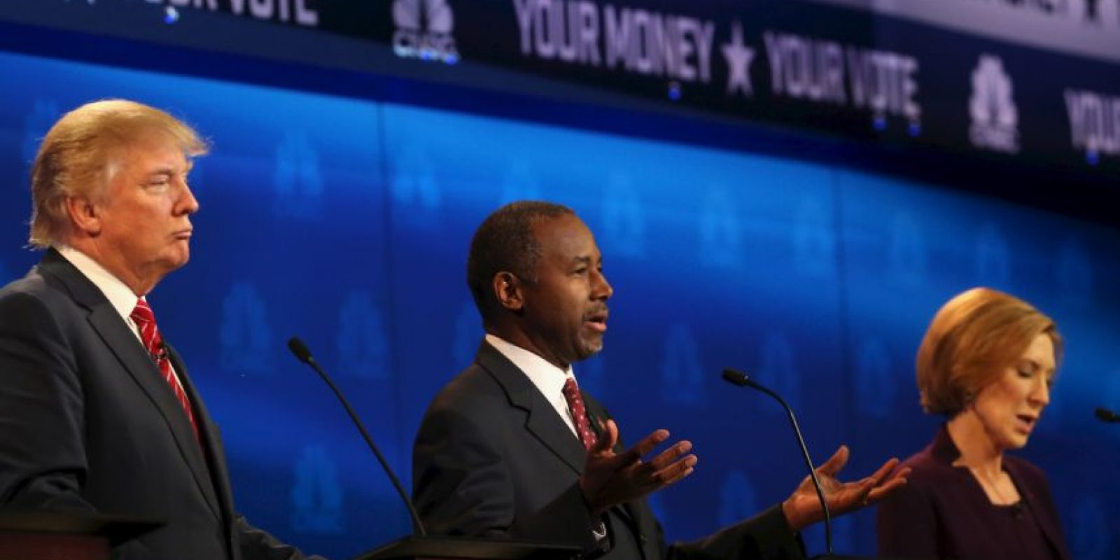 Ambos políticos forman parte del Partido Republicano estadounidense. Foto:Getty Images