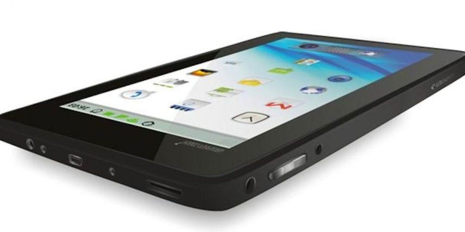 Así lucirá el DataWind, el smartphone más barato del mundo. Foto:DataWind