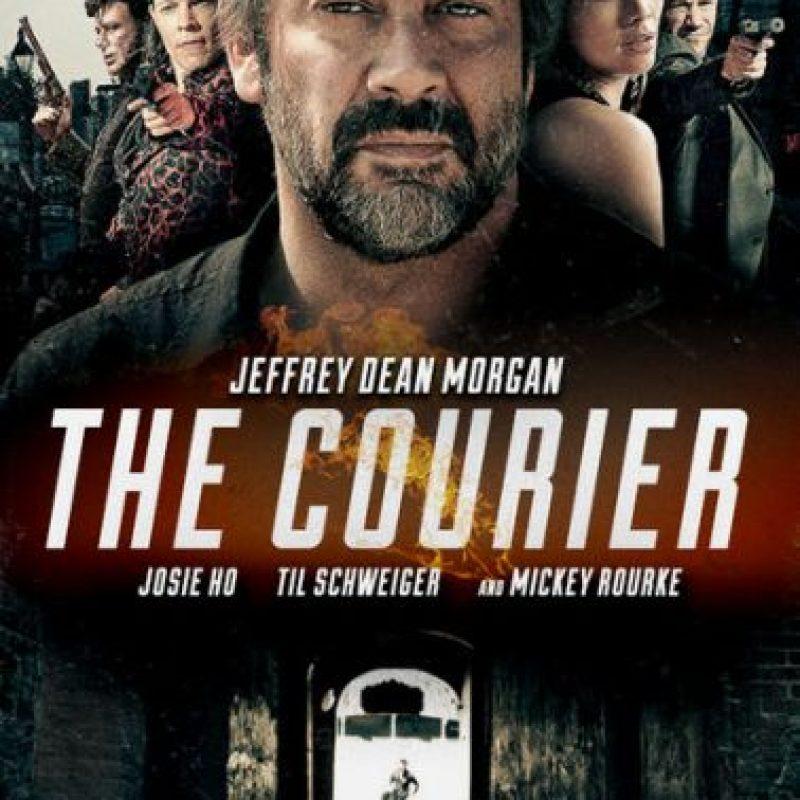 """The courier"" – Ya disponible. Foto:vía Netflix"