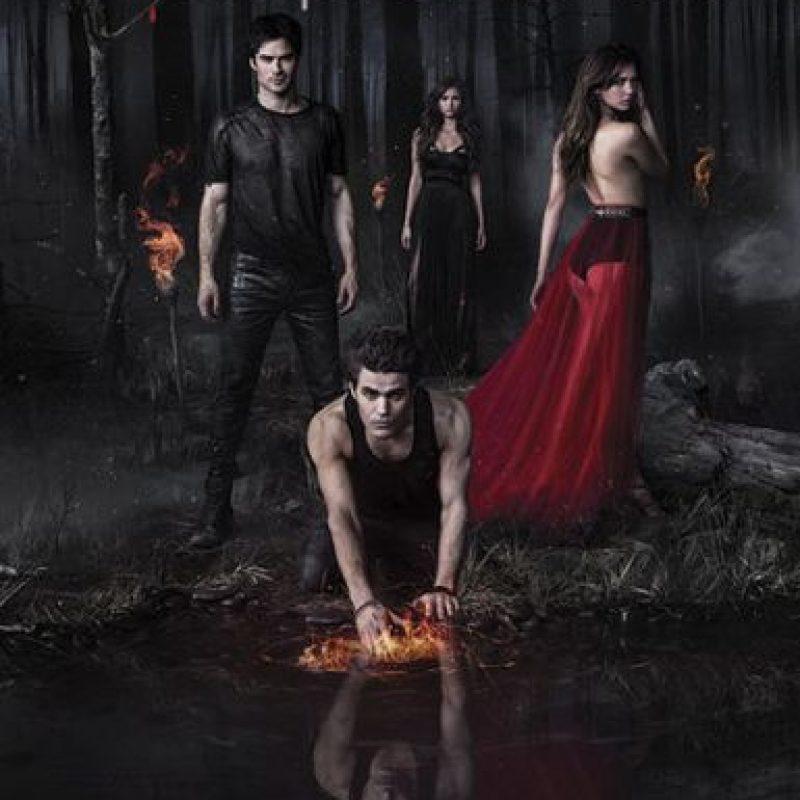 """The vampire diaries"" – Temporada 6 disponible a partir del 10 de noviembre. Foto:vía Netflix"