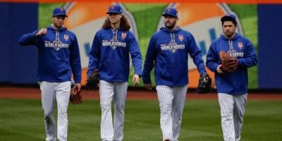 Jóvenes ases de Mets listos para llevarlos lejos