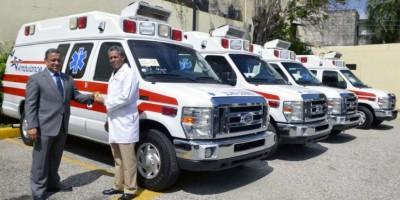 IDAC adquiere 4 ambulancias para servicio médico de la institución