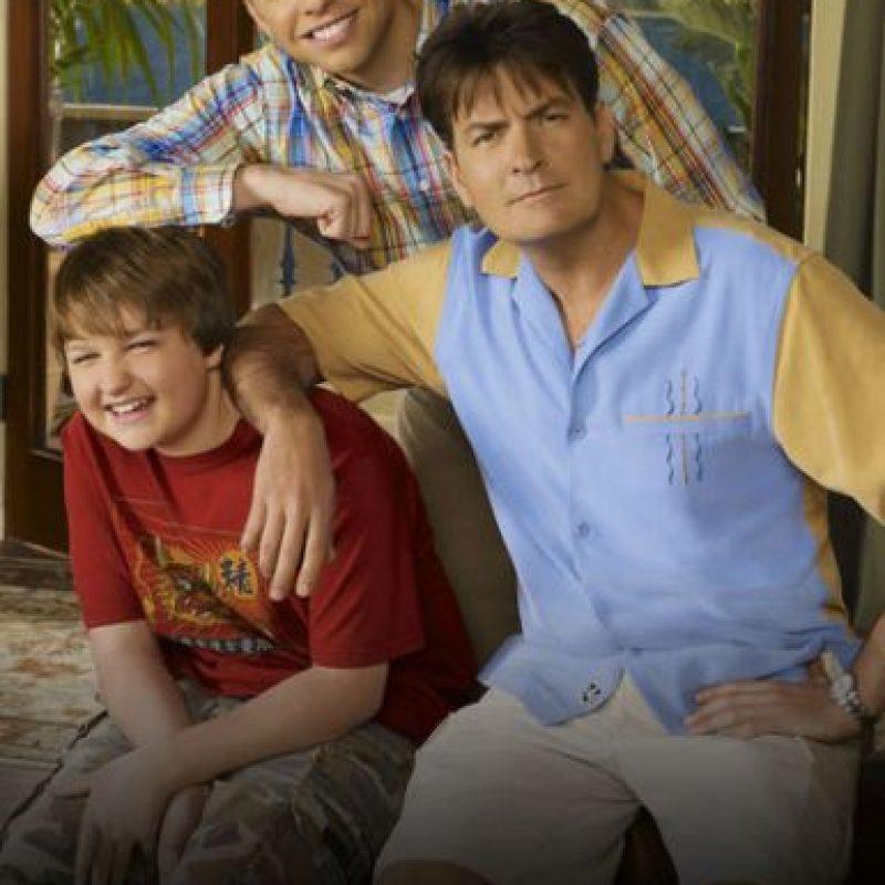 """""""Two and a half men"""" – Temporadas 5 y 6 disponibles a partir del 5 de noviembre. Foto:vía Netflix"""