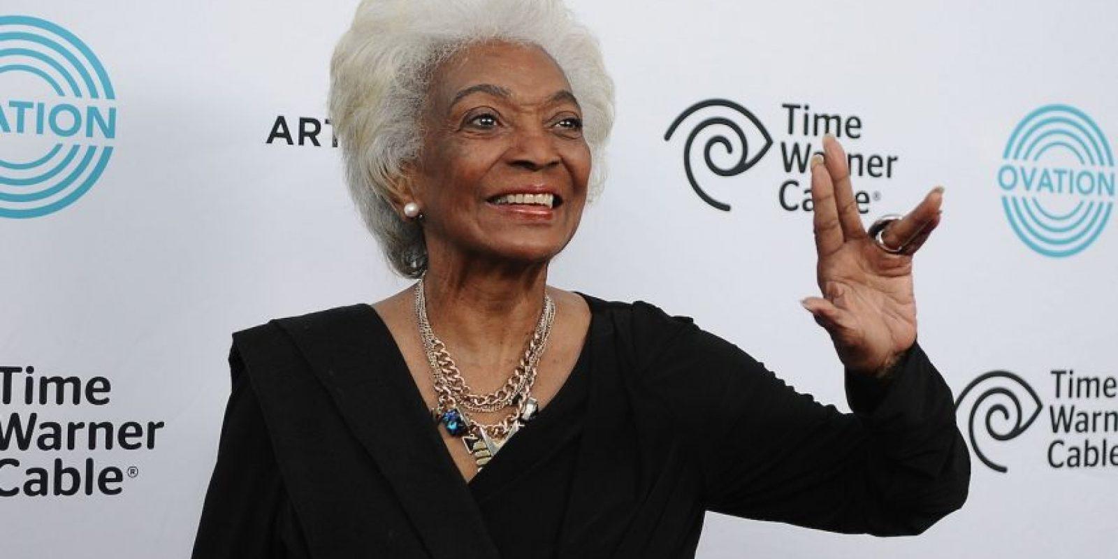 """En 2007, apareció en la seroe """"Heroes"""" como """"Nana Dawson"""". Foto:Getty Images"""