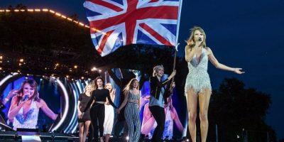 """Kendall fue una de las invitadas especiales durante la presentación de la """"estrella pop"""" en Londres. Foto:Getty Images"""