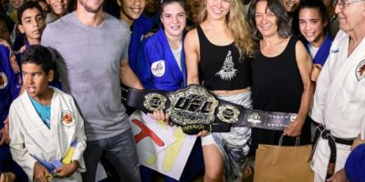 Es la máxima referente de la UFC Foto:Getty Images