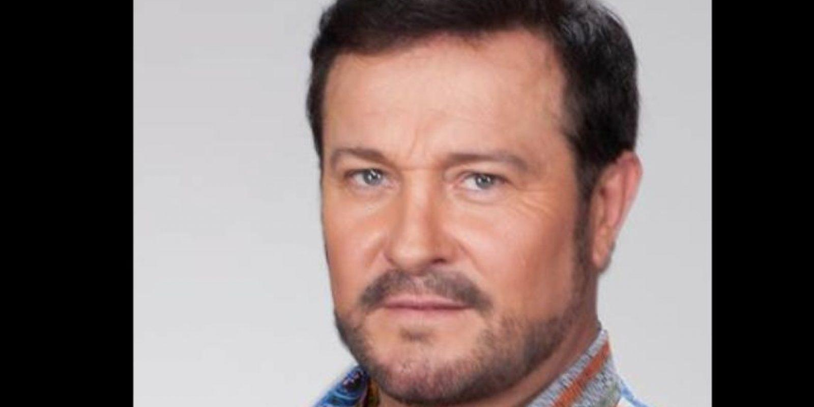 Es un reconocido actor de televisión a nivel internacional. Foto:vía Facebook