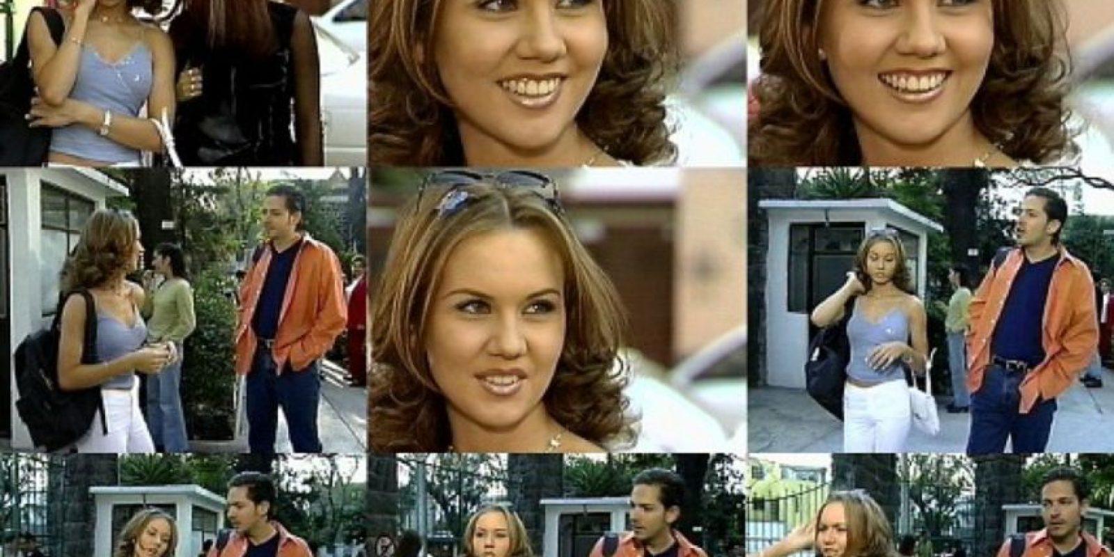 Supremamente religiosa, era el interés amoroso del personaje interpretado por Kuno Becker. Foto:vía Televisa